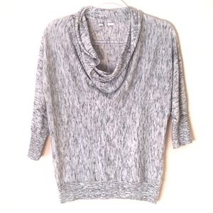 Moth Anthropologie space dyed cowl neck sweater M